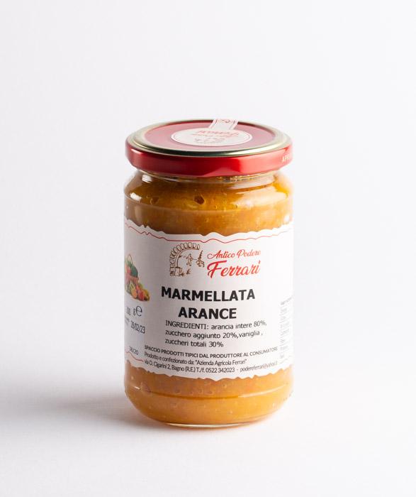 marmellata artigianale di arancio caseificio san simone