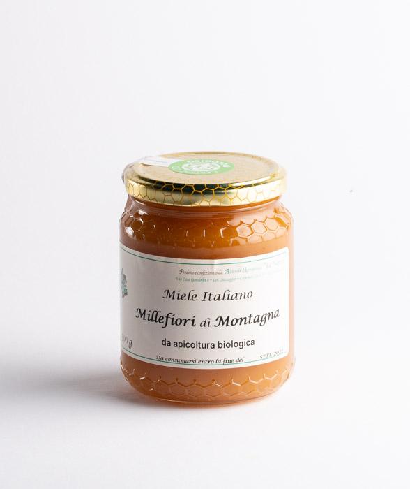 miele italiano millefiori di montagna bio caseificio san simone